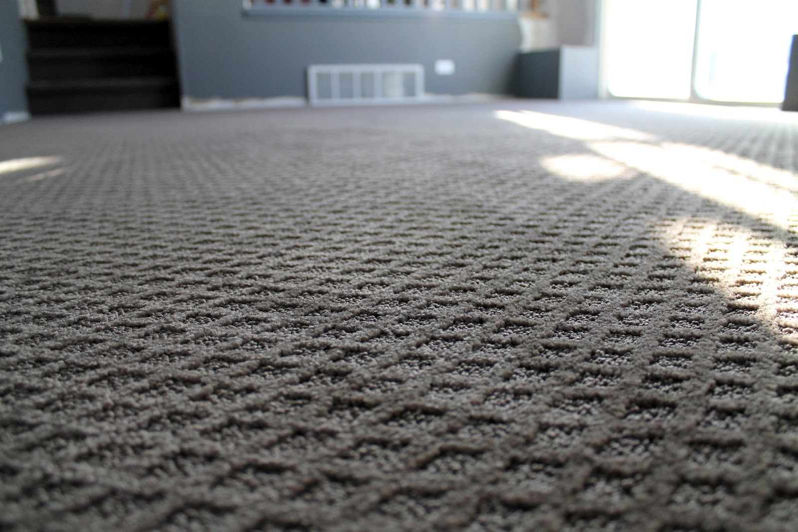 Diamond Pattern Carpet Makes A Beautiful Statement To Room Or Entire House