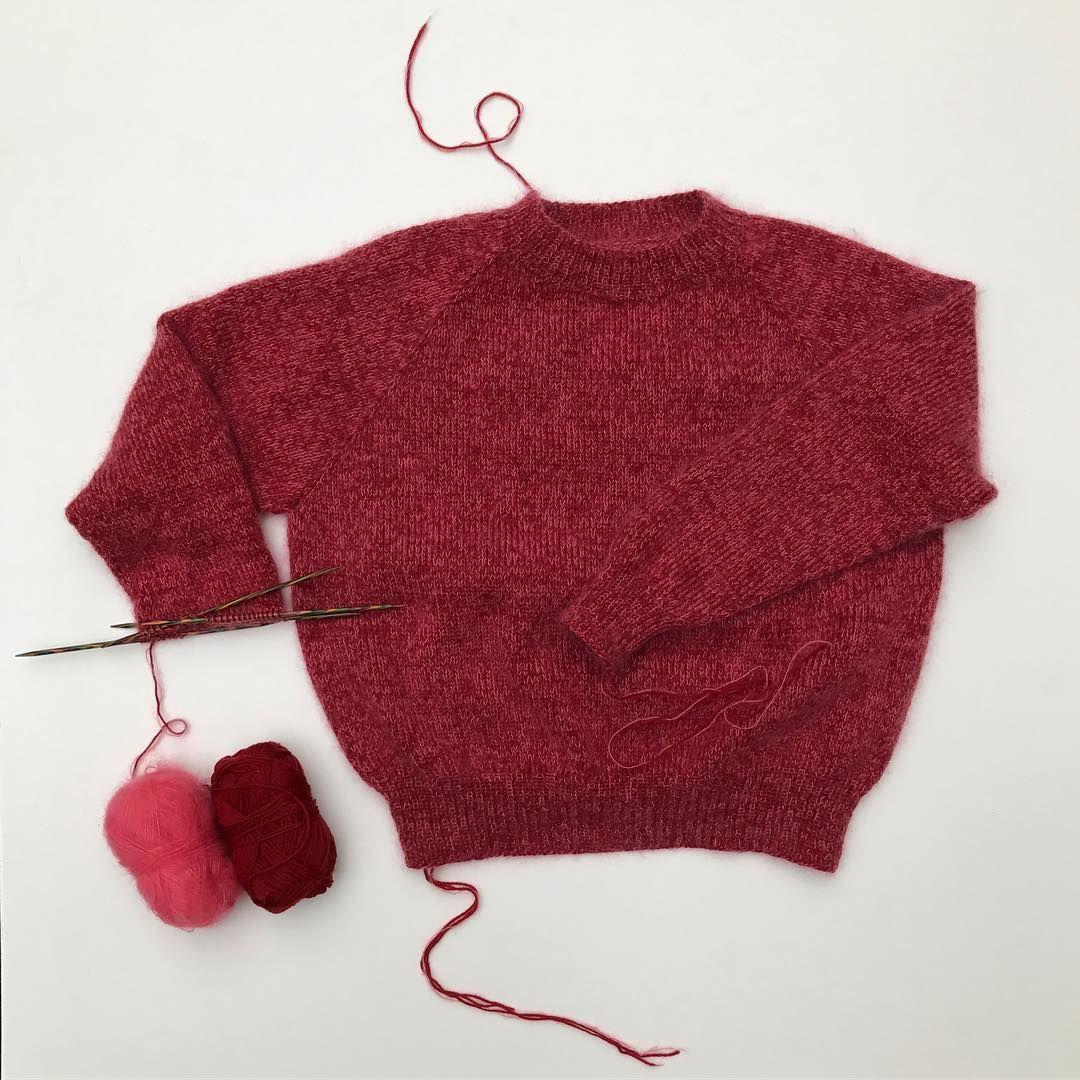 Ingen Dikkedarer-sweater med vejledning til str. XL I kommentarerne