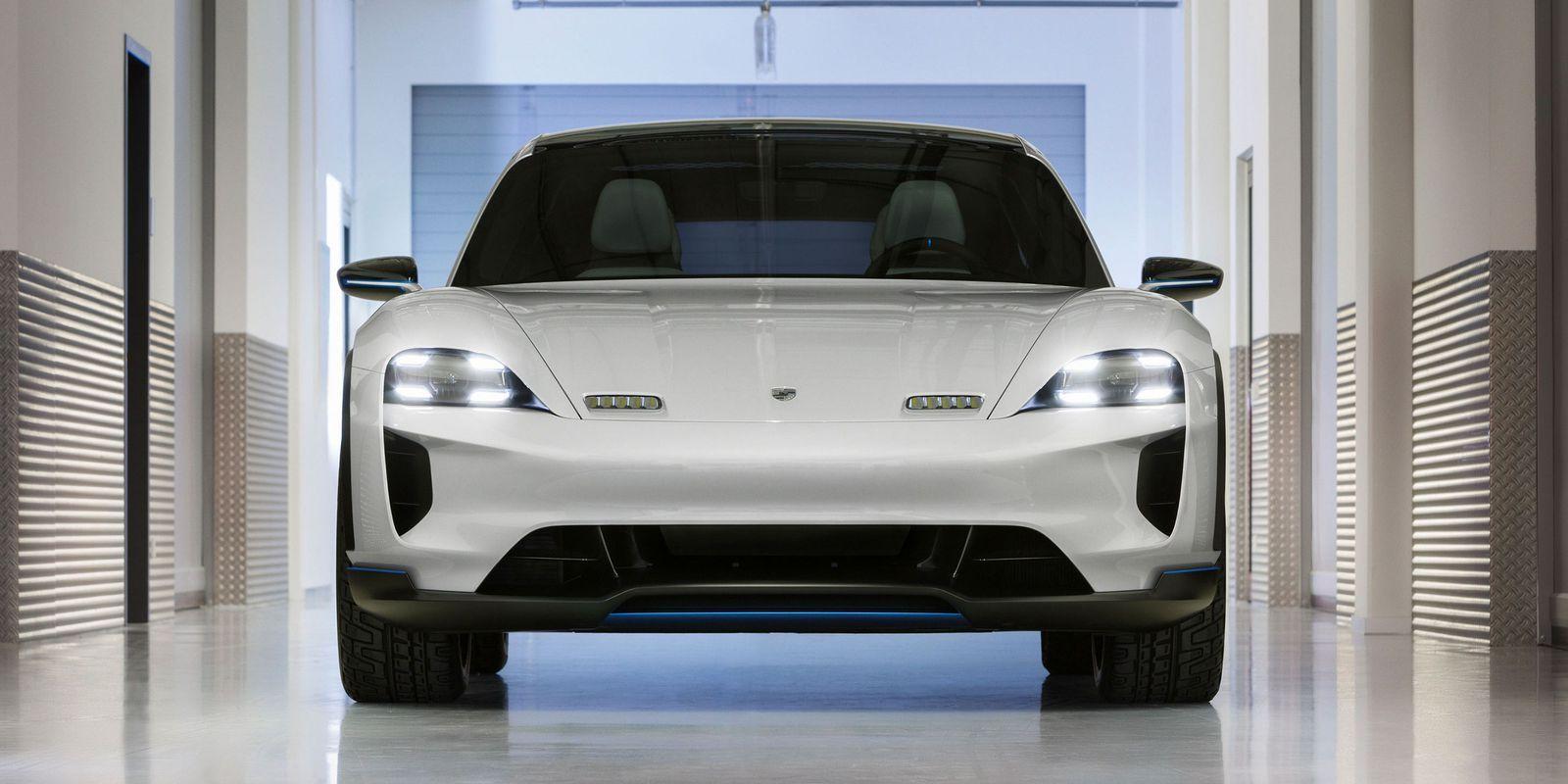 Porsche Rolls Out A Hot Rodded Electric Suv Mission E Porsche Mission Porsche