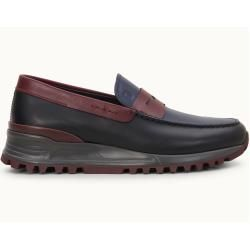 Photo of Tod's – Loafer aus Leder, Bordeaux,schwarz, 11.5 – Shoes Tod's