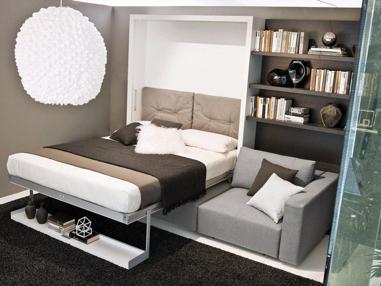Pin By Amanda Rose On Home Design Small Spaces Murphy Bed With Sofa Murphy Bed Sofa Murphy Bed Ikea