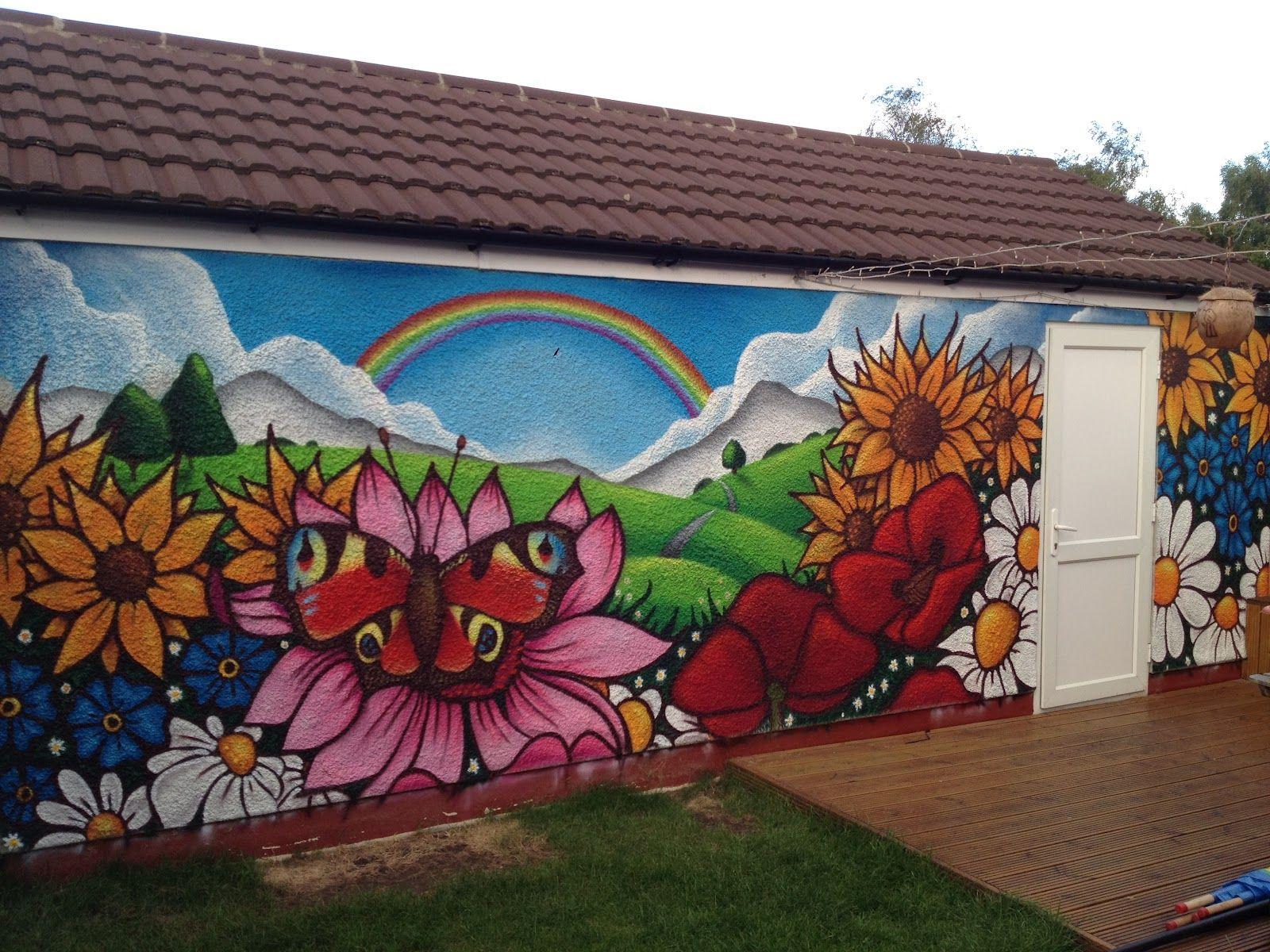 Garden Art Graffiti Google Search Garden Mural Garden