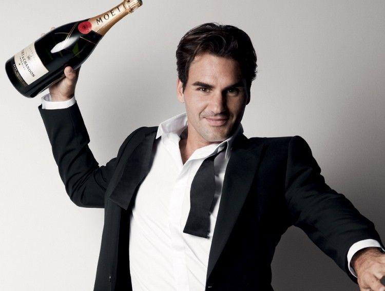 Moet Chandon Roger Federer 3 3 3 3 3 3 Roger Federer