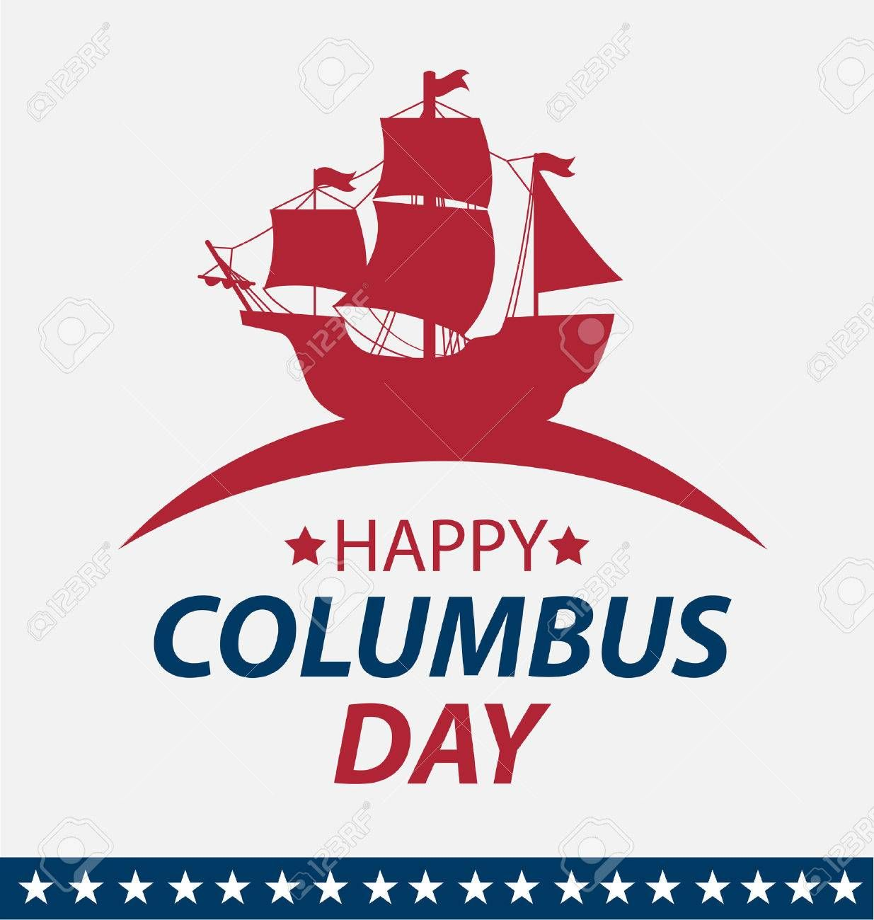 Vector Illustration Columbus Day Sponsored Illustration Vector Day Columbus Columbus Poster Movie Posters