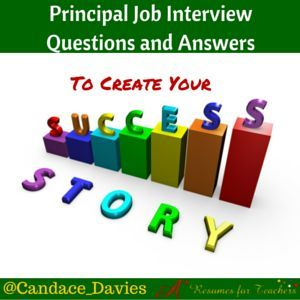 School Principal Job Interview Questions And Answers To Land A Job