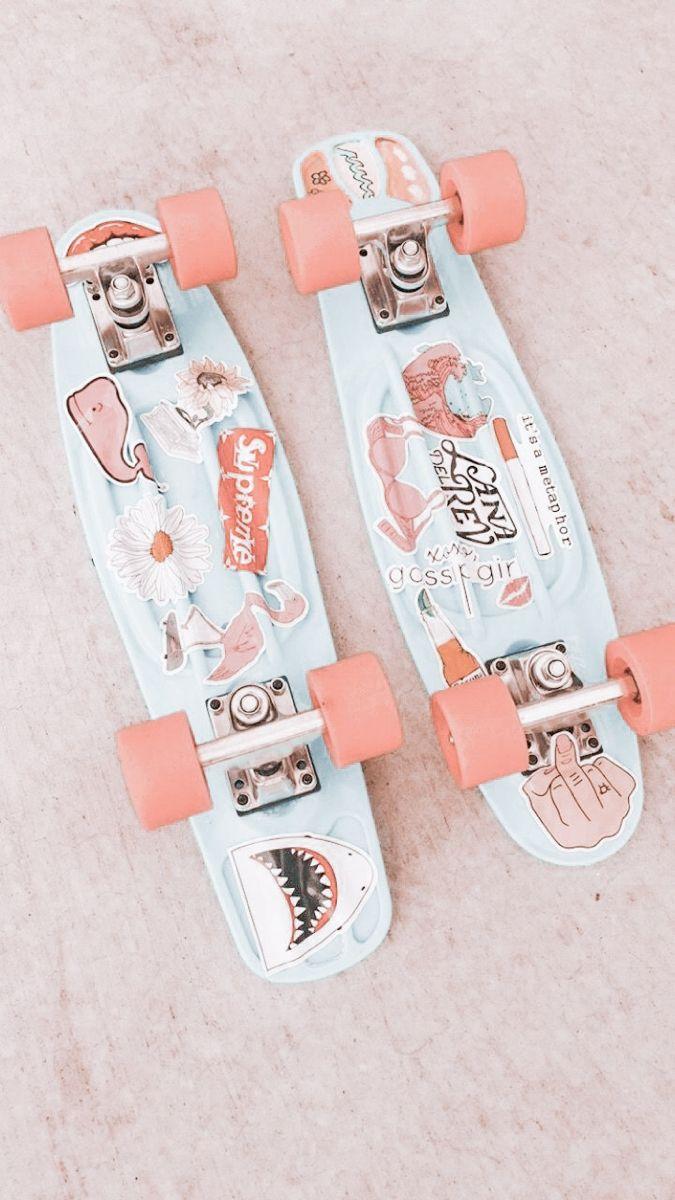 Penny Board Aesthetic Stickers