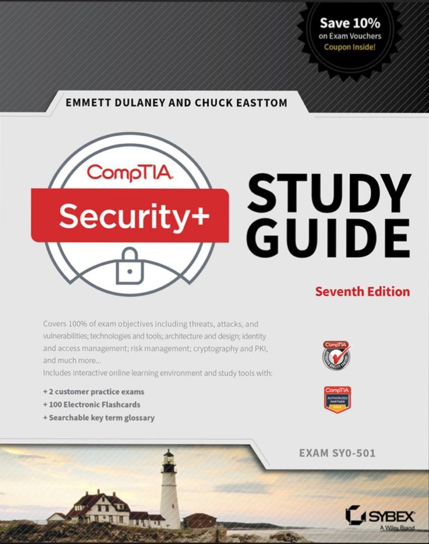 Comptia Security Study Guide Exam Sy0 501 7th Edition Study Guide Book Addict Exam