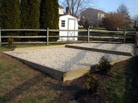 Foundation For Shed Base Gravel Shed Base Backyard Shed Shed Plans