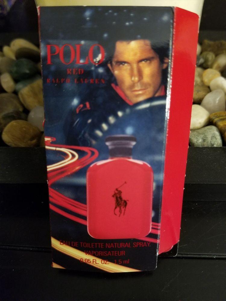 Ralph Lauren Polo Red 0.05 FL Men's Eau de Toilette