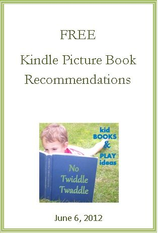 Here is my newest list of Free Kindle Picture Books. They probably won't be free for long so check them out now if you are interested!