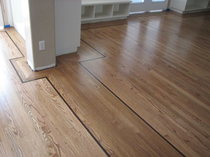 Red Oak Floors With Natural Finish