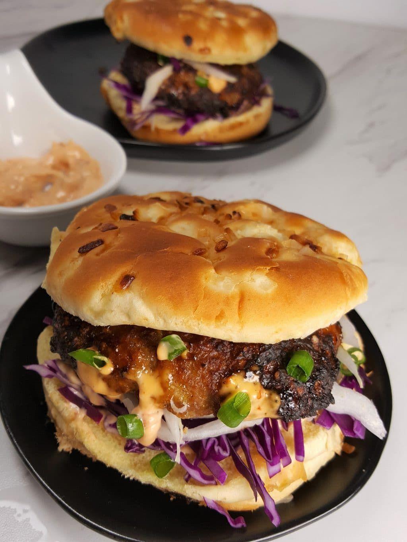 Air Fryer Orange Turkey Burgers Image Recipes, Air fryer
