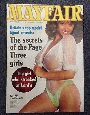 Mayfair uk adult magazine