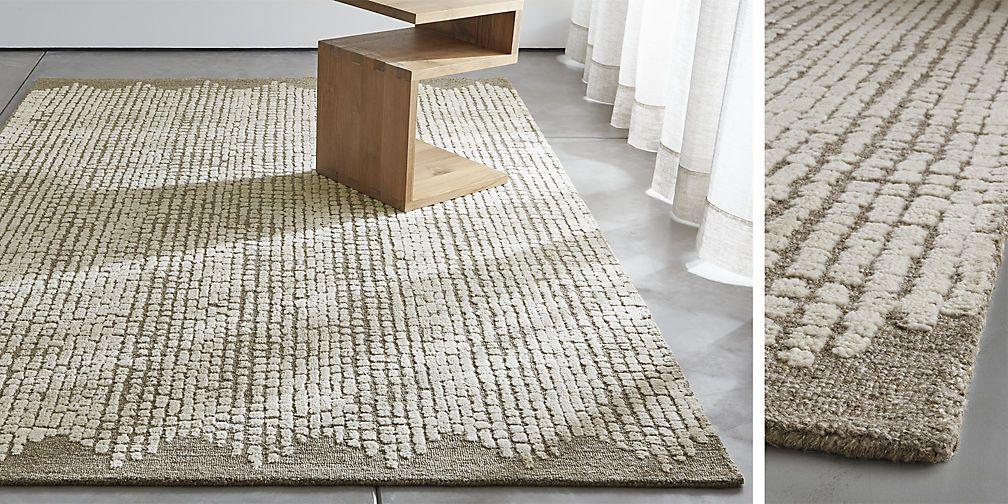 Clea Wool-Blend Rug Hillsborough Pinterest Blended rugs, Large