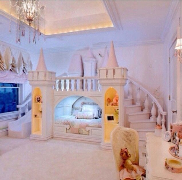 If I did this my daughter would not come out her room!!!...Love this even I would sleep here...lolz!!