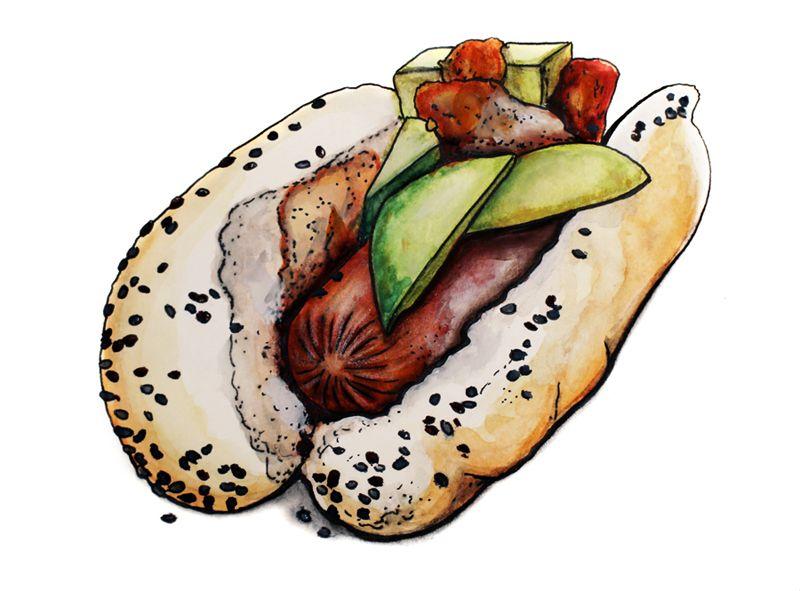 hot dog by elmsta