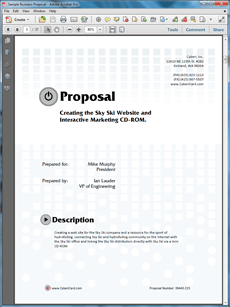 Business Proposal Templates  OfficeCsr    Business