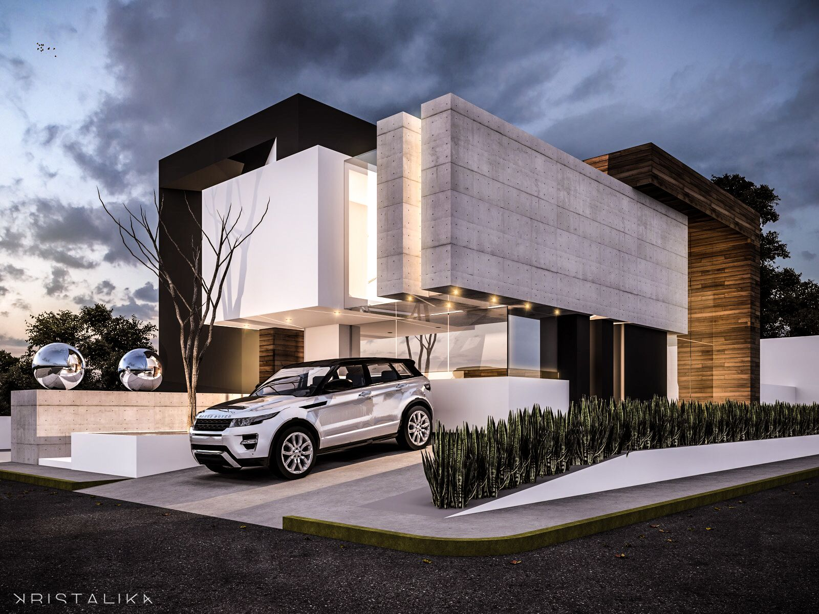Beam House Architecture Modern Facade Contemporary