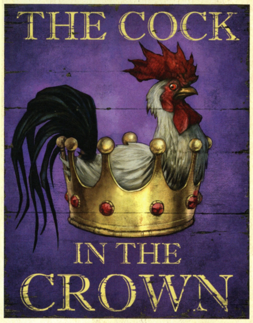 The Cock poster from Fable III.