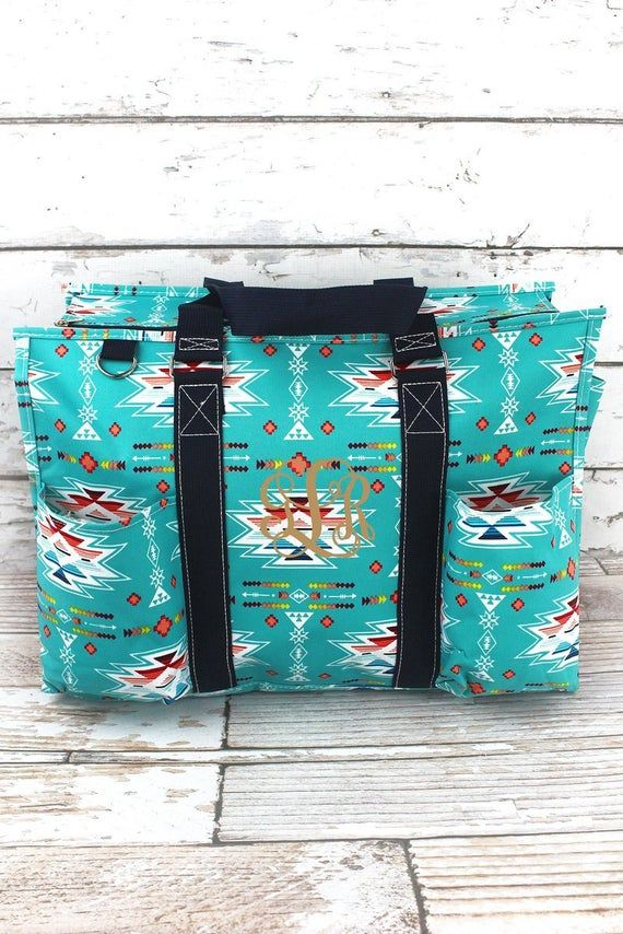 Santa Fe Sunrise Monogrammed Diaper Bag