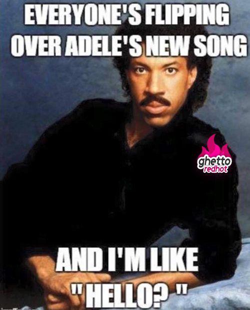 Lionel Richie Hello Meme : lionel, richie, hello, Humor