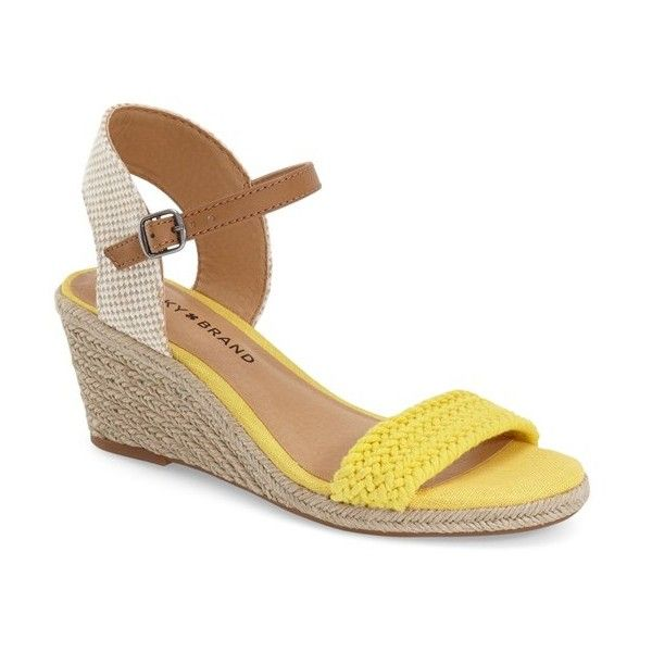 Lucky Brand 'Katereena' Wedge Sandal (Women) available at