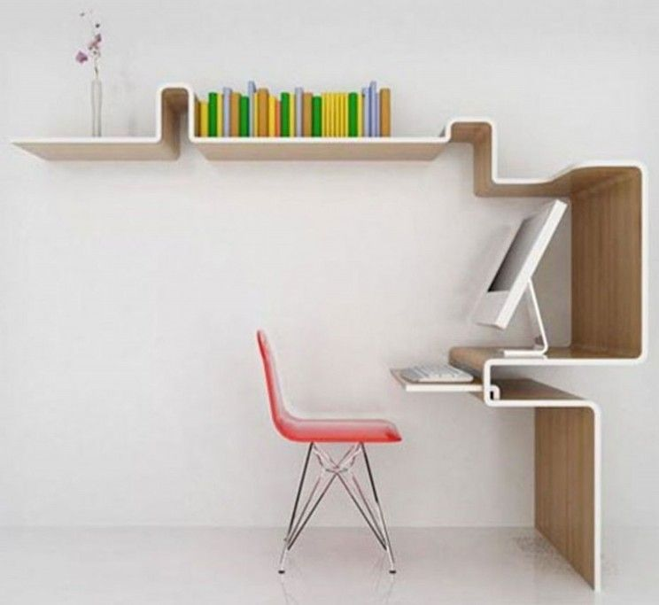 home office desk chairs chic slim. Furniture, The Slim Computer Desk For Solution Of A Small Office Room : Chic  Design Ideas With Shelves And Nice Chair, Home Office Desk Chairs Chic Slim Pinterest