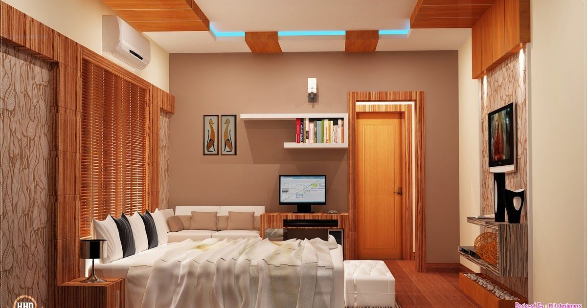 Living Room Middle Class Kerala Indian Home Interior Design Living Room Wall Ti Class Design In 2020 Home Interior Design Modern Bedroom Design Bedroom Interior