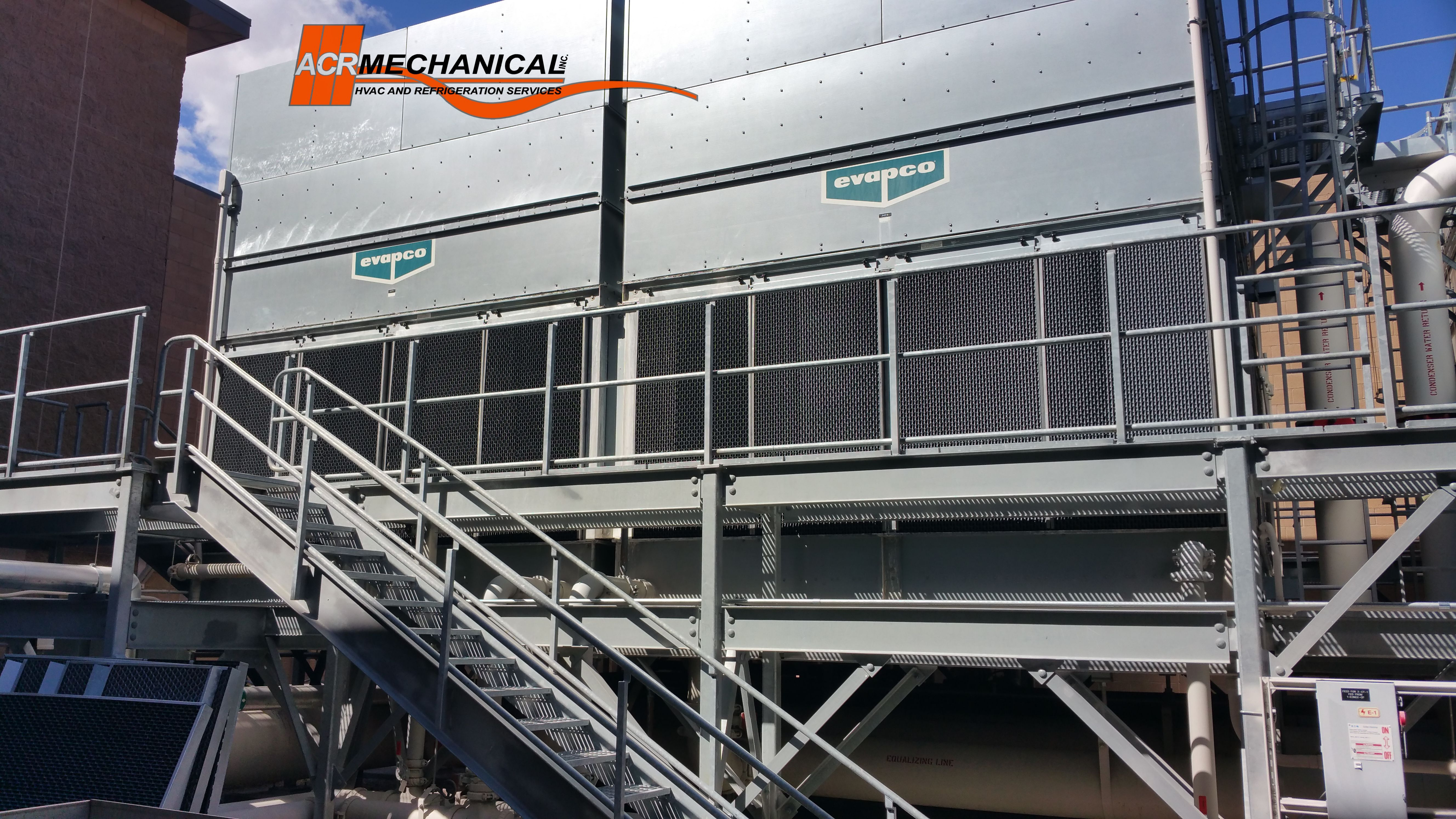 Full Service Cooling Tower Maintenance Acr Mechanical Inc
