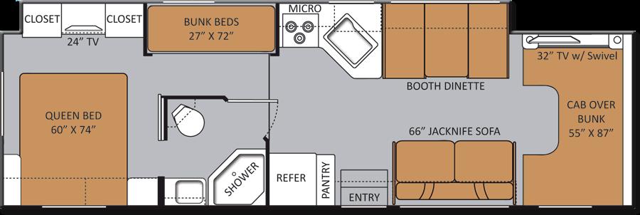 Small Class C Rv Floor Plans