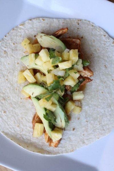 ATK Slow Cooker Shredded Chicken Tacos #shreddedchickentacos