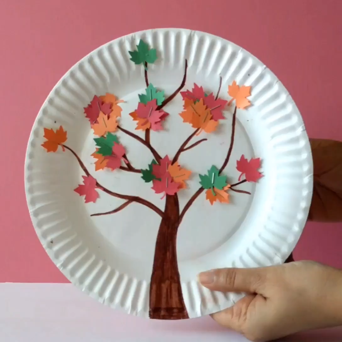 Magnetic Fall Leaf Craft | Crafts for Kids | The Joy of