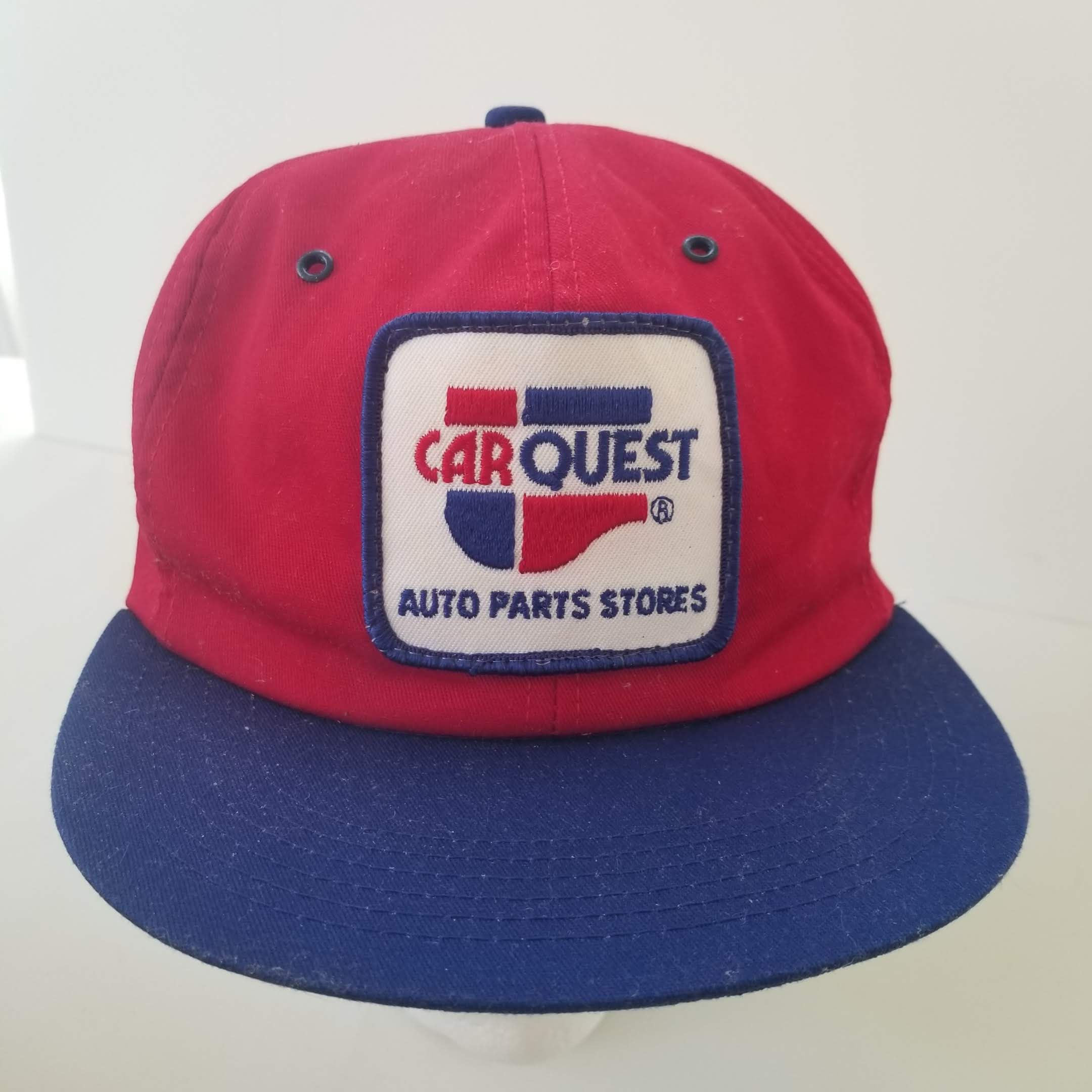 75bad4d7 Vintage 80s Carquest Auto Parts Patch Trucker Hat Snapback Cap K-Products  Made in USA by TraSheeWomen on Etsy #carquest #autopartsstore #vintage #80s  ...