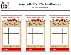 Free Printable Tic Tac Toe Board  Valentine TicTacToe Board