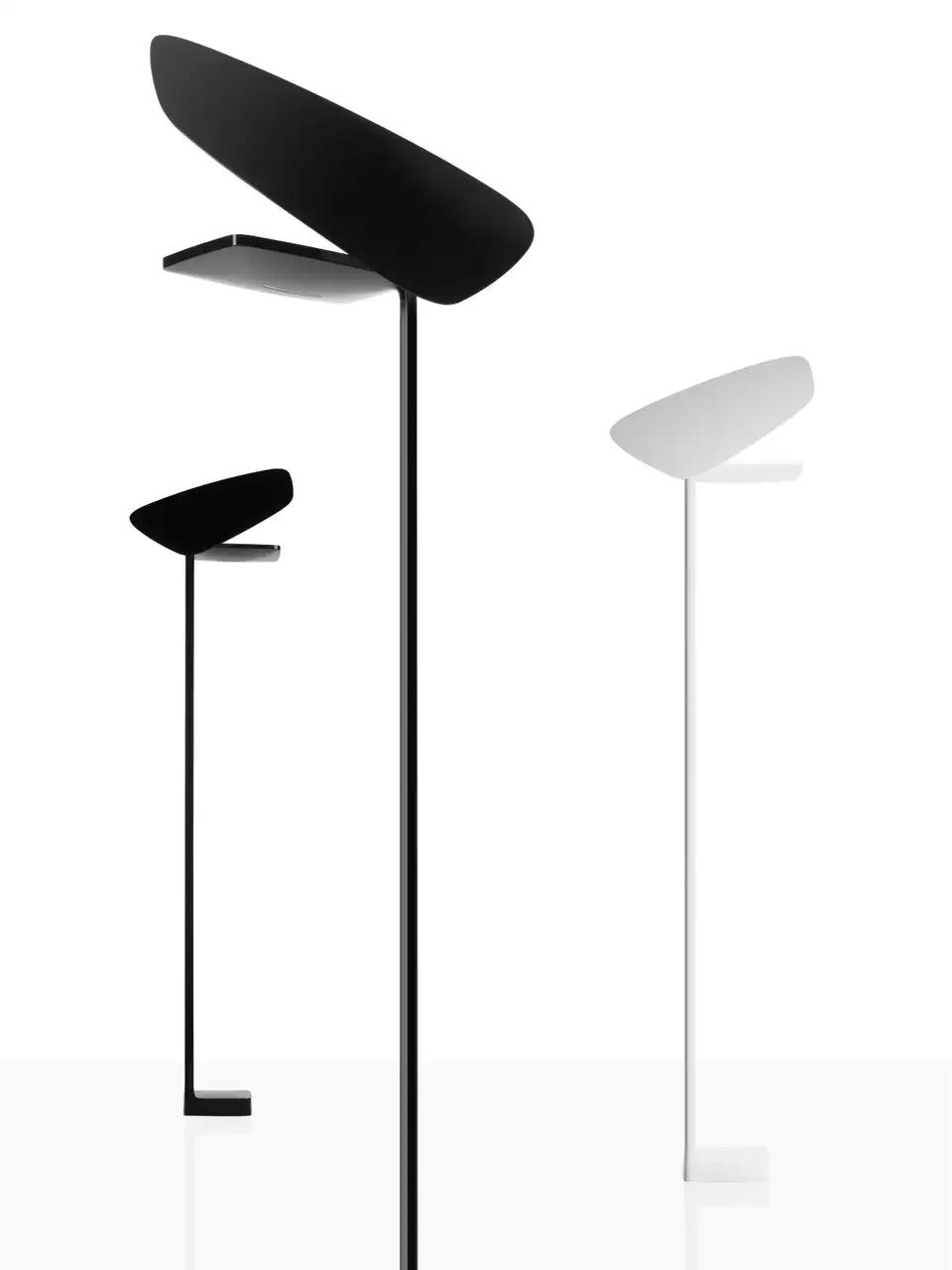 Foscarini Lightwing Floor Lamp In Black By Jean Marie Massaud In 2020 Floor Lamp Lamp Foscarini