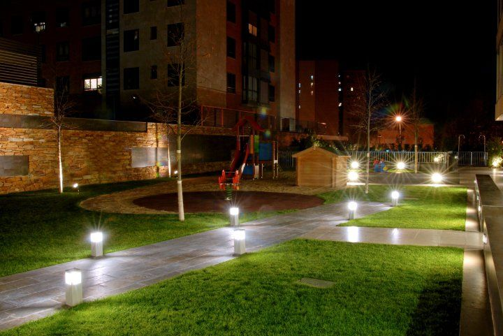 Iluminación Jardines (garden) wwwteknilight web Jardines en