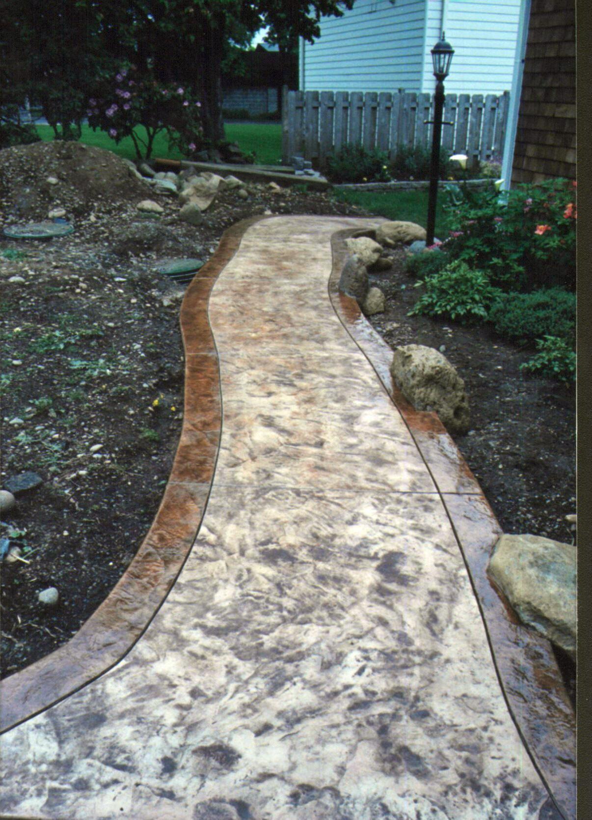 Great Walkway Designs | Cement Walkways ~ Concrete Walkway Design ~ Garden Walkway  Design