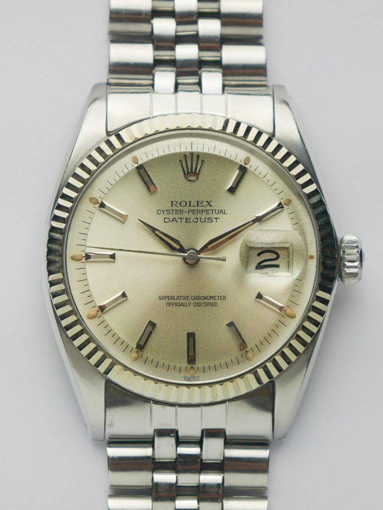 1963 Rolex Oyster Perpetual Datejust 1601 Sabiwatches Rolex Rolex Oyster Perpetual Rolex Watches