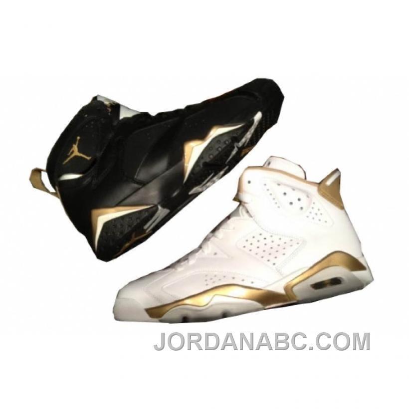 Air Jordan 6/7 Pack Médaille Dor À Vendre