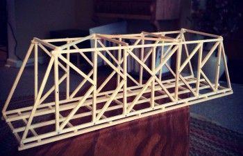 Garrett S Bridges Classic K Truss Bridge Design Balsa Wood Truss Bridge Bridge Design Wood Bridge