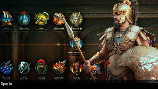 Best Strategy Web Games Sparta, Empire characters, Real