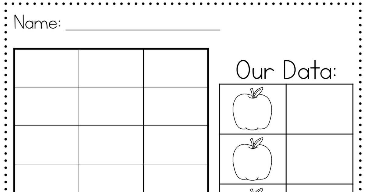 Apple Graph.pdf | School Fun | Pinterest