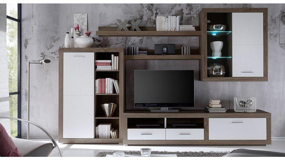 "Wohnwand ""Mikhail"" Living room Haus deko, Wohnen"