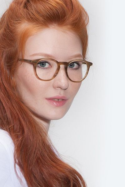 9c72ab34f10 Prism Chestnut Acetate Eyeglasses from EyeBuyDirect. Exceptional style