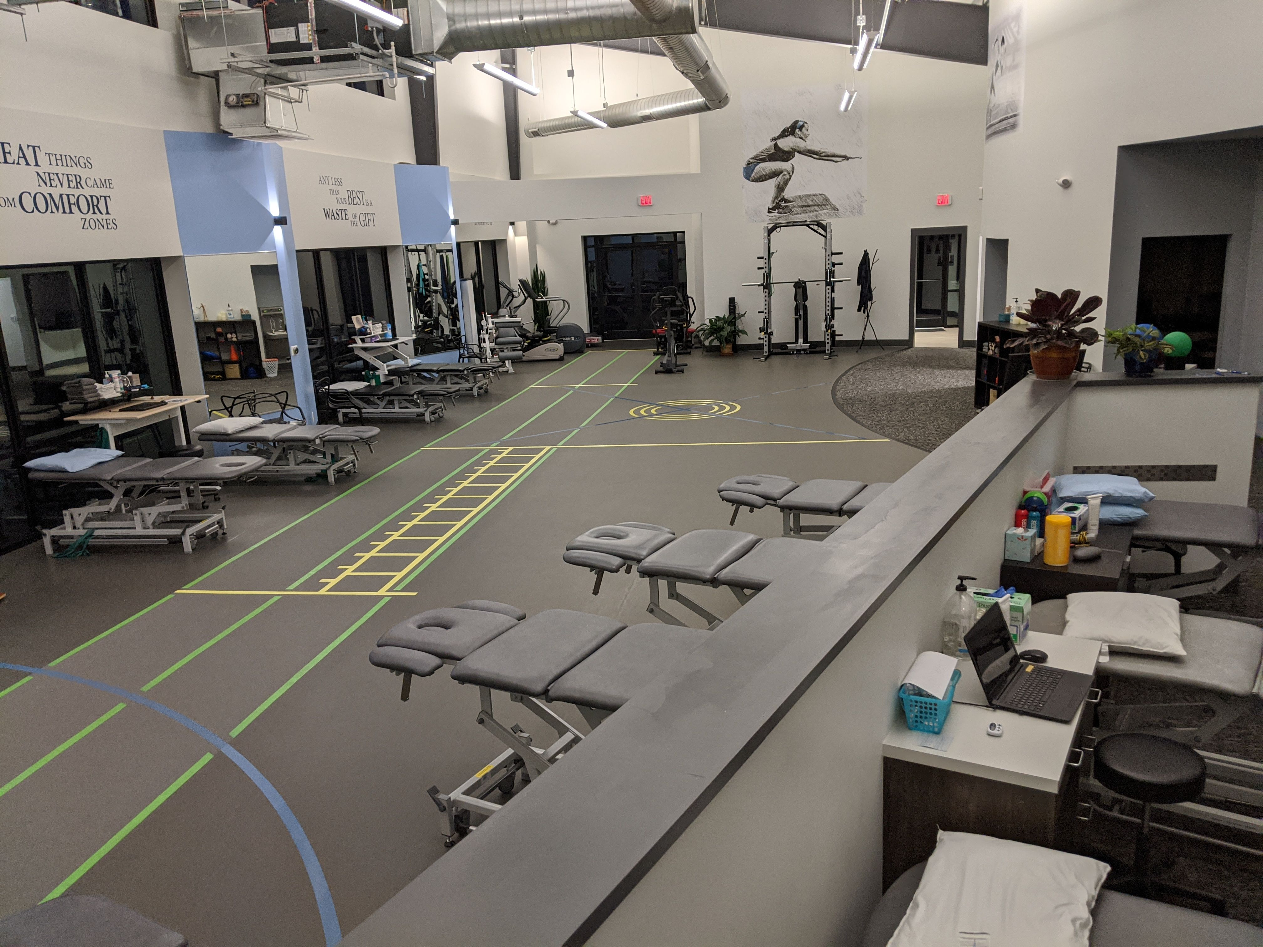 Physical Therapy Wellness Design Physical Therapy Clinic Design
