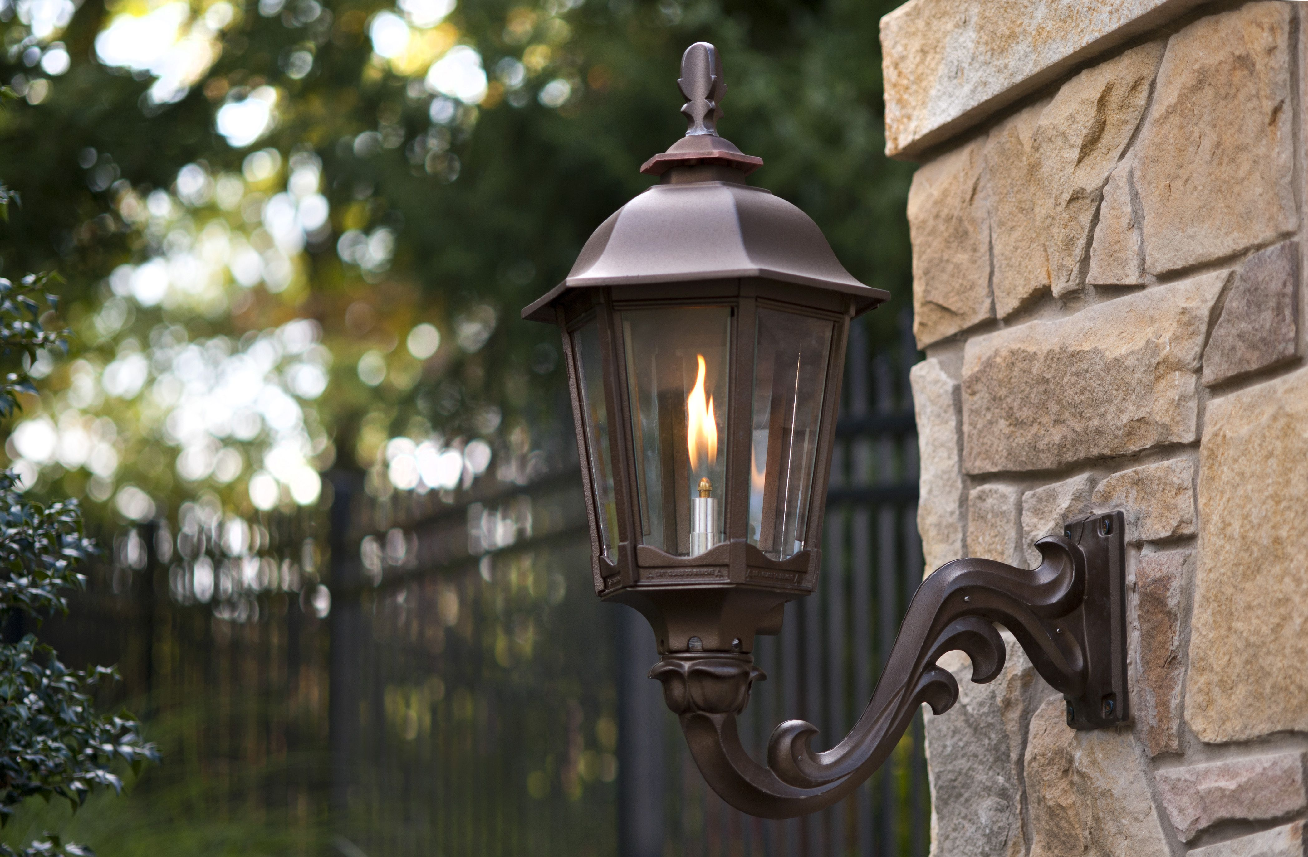 Outdoor Gas Lamps Lighting By American Gas Lamp Works Gas Lanterns Porch Lighting Outdoor Lamp Posts