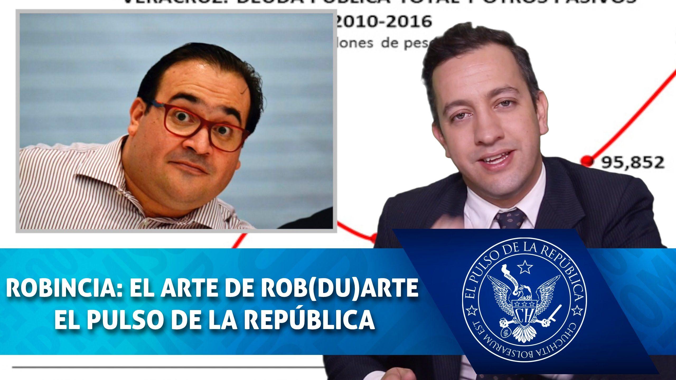 ROBINCIA: EL ARTE DE ROB(DU)ARTE - EL PULSO DE LA REPÚBLICA
