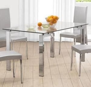 Zuo Roca Dining Table Modern Gl