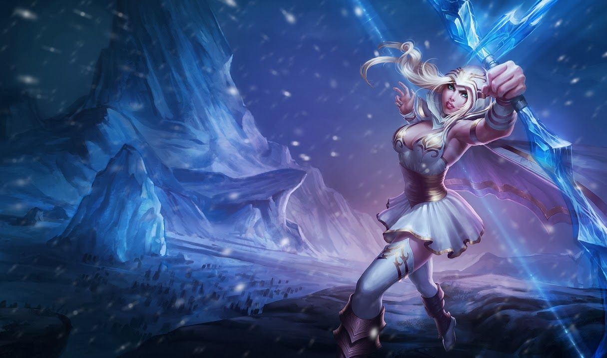 Ashe League Of Legends Wallpaper Ashe Desktop Wallpaper Ashe
