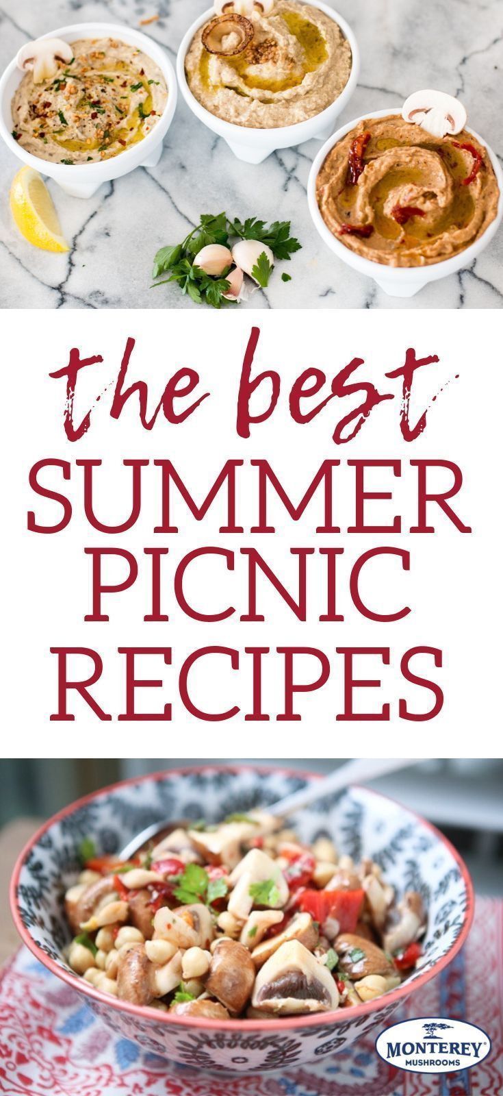 The Ultimate Picnic Smorgasbord, Featuring... You Guessed It... Mushrooms! #familypicnicfoods Plan a smorgasboard of delicious meals for your al fresco dining!  These summer picnic recipes are perfect to enjoy outdoors with friends and family. #picnic #summerrecipes #healthyfood #familypicnicfoods The Ultimate Picnic Smorgasbord, Featuring... You Guessed It... Mushrooms! #familypicnicfoods Plan a smorgasboard of delicious meals for your al fresco dining!  These summer picnic recipes are perfect #familypicnicfoods